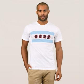 T-shirt livre de Chicago do trunfo dos homens