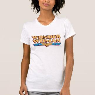 T-shirt Logotipo 2 da mulher maravilha