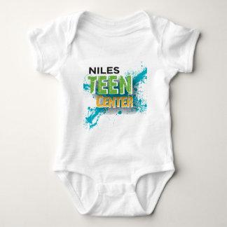 T-shirt Logotipo Center adolescente de Niles