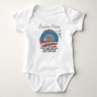 T-shirt logotipo de obama do voto - imagem - 2012
