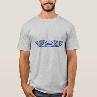T-shirt Logotipo do ASA Blue Wings