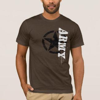 T-shirt Logotipo do exército