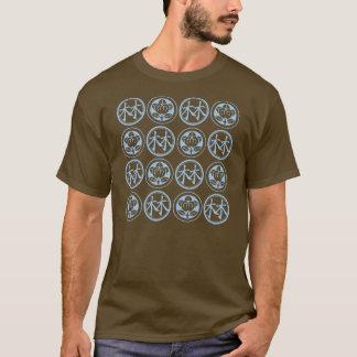 t-shirt longo da luva do dilateDStimuli [4by4]