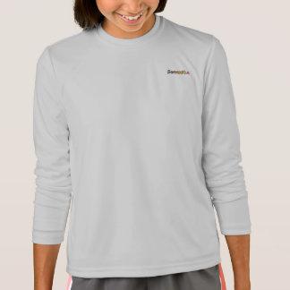 T-shirt longo da luva do Esporte-Tek de Samantha
