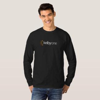 T-shirt longo da luva do KelbyOne dos homens