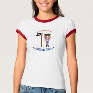 T-shirt louco de Morgan da academia da pilhagem