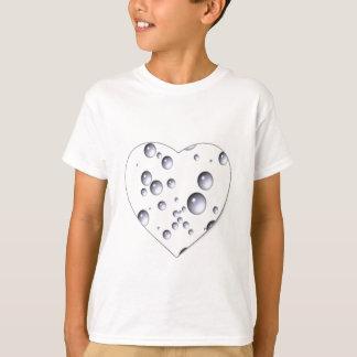 T-shirt ~ Loving das bolhas de Dora do ~ do coração de