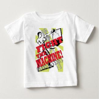 T-shirt Lute a máquina