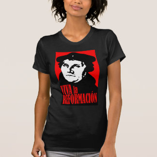 T-shirt LUTHER de Reformacion do la de Viva