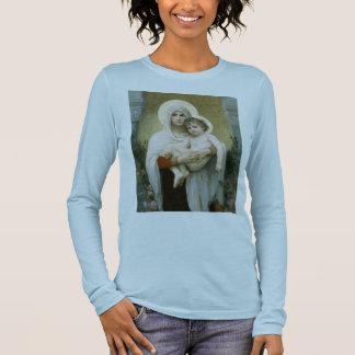 T-shirt Madonna do T dos rosas