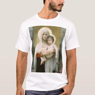 T-shirt Madonna dos rosas ESCUROS