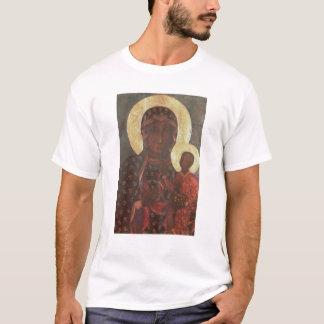 T-shirt Madonna preto de Jasna Gora
