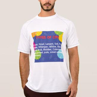 T-shirt Maneiras de gritar