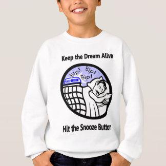 T-shirt Mantenha o vivo ideal - bata o botão do Snooze