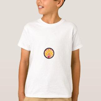 T-shirt Marcado pelo fogo