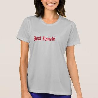 T-shirt Melhor fêmea
