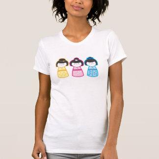 T-shirt Meninas de Kokeshi