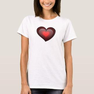 T-shirt Meu coração da cebola