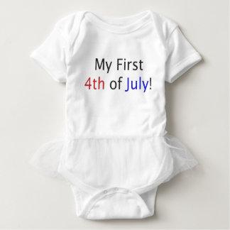 T-shirt Meu primeiro 4o julho!
