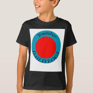 T-shirt Meu primeiro merch de YouTube