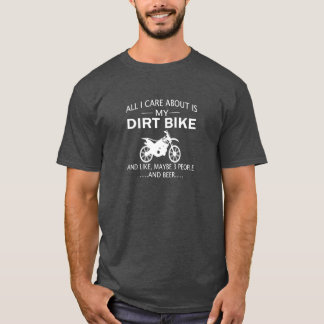T-shirt Meus DIRTBIKE e CERVEJA
