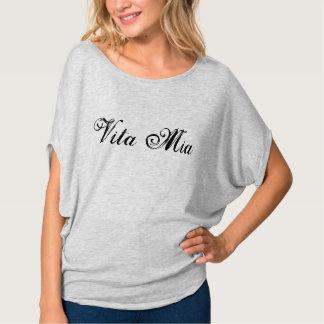 T-shirt mia bonito de Vita do italiano meu design anca do