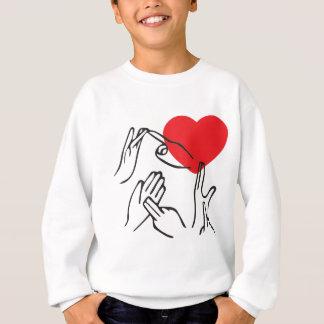 T-shirt Mim coração NY para o surdo