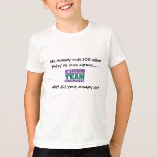T-shirt Minhas mamães de TNT montaram 100 milhas hoje a…