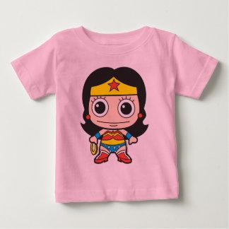 T-shirt Mini mulher maravilha