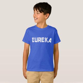 T-shirt miúdos legal Eureka-Engraçados da exclamação do