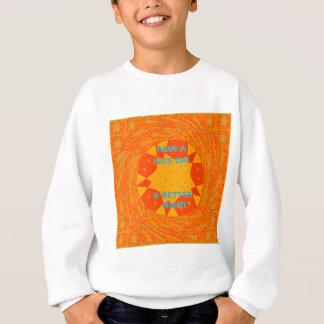 T-shirt Modelo do vertical da camisola dos miúdos