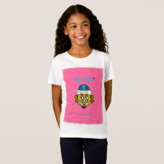 T-shirt moderno (cor-de-rosa) de Vita do estilo há