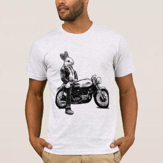 T-shirt Motociclista do coelho