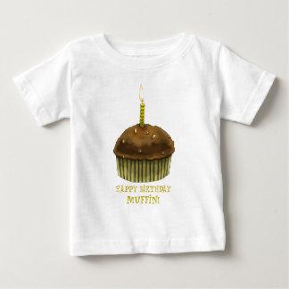 T-shirt Muffin do feliz aniversario