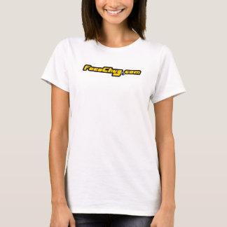 """T-shirt Mulheres """"chugular"""" de FC"""