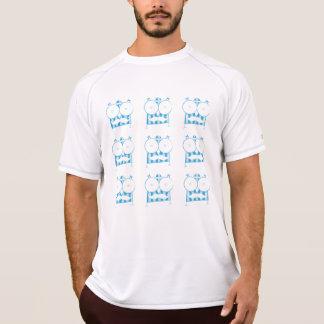 T-shirt Mustached da coruja