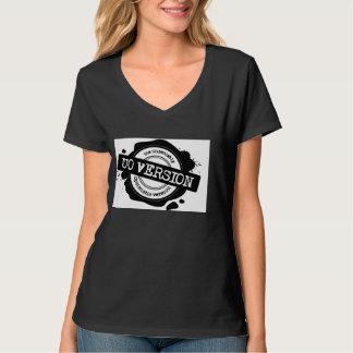 T-shirt Nano do V-Pescoço do Hanes das mulheres