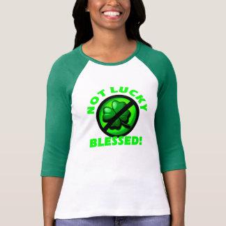 T-shirt Nao afortunado - abençoado!