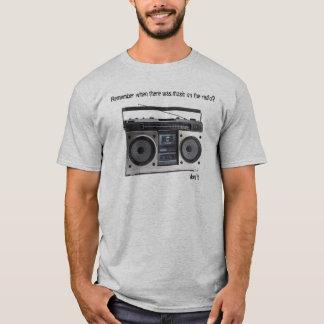 T-shirt não mais música