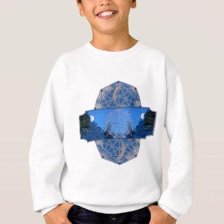 T-shirt Natureza sagrado da lua da geometria