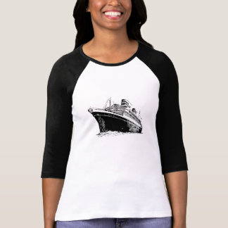 T-shirt Navio de cruzeiros
