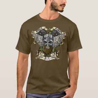 T-shirt nórdico da cerveja inglesa da pilhagem