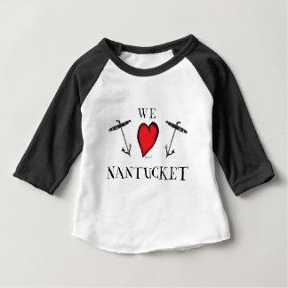 T-shirt nós amamos o nantucket