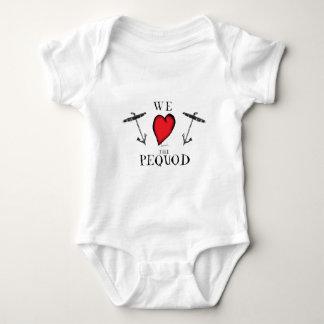 T-shirt nós amamos o pequod