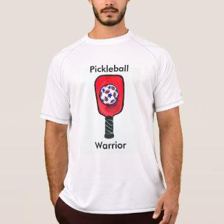 T-shirt novo do equilíbrio dos homens do guerreiro
