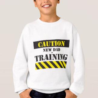 T-shirt Novo papai do cuidado no treinamento