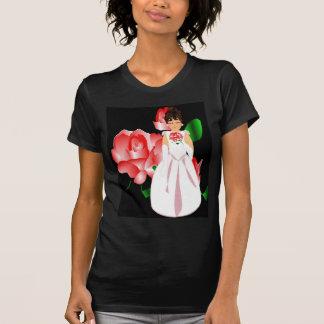 """T-shirt nupcial da """"noiva"""" do partido III"""