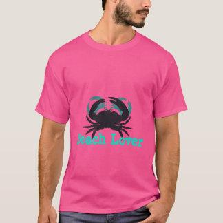 """T-shirt """"O amante abstrato da praia (c) Crabs """""""