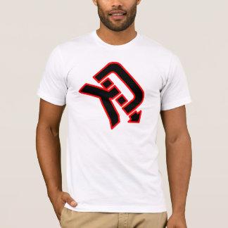 T-shirt O assassino desmonta o logotipo