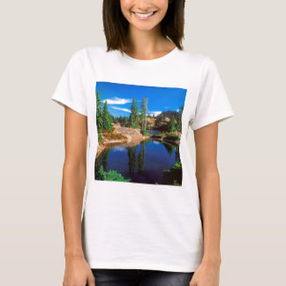 T-shirt O índigo do parque sonha lagos Wenatchee Rampart